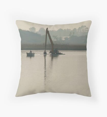 Upper Newport Bay Ecological Reserve Throw Pillow