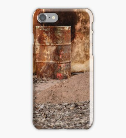 5.3.2015: Rusty Barrel iPhone Case/Skin