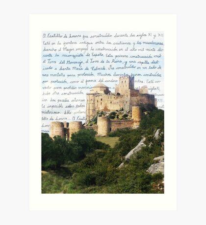 El Castillo De Loarre Art Print