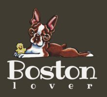Colored Boston Lover by offleashart