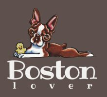 Colored Boston Lover Kids Clothes