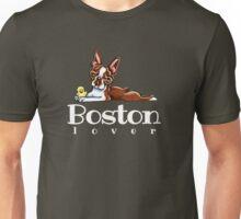 Colored Boston Lover Unisex T-Shirt