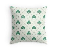 Shamrock On! Throw Pillow