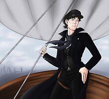 Sherlock Air Pirate by SenoraKitty