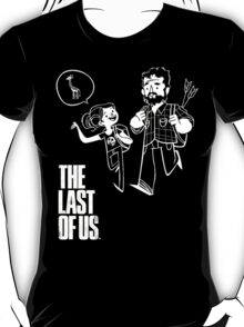 The Last of Us Joel and Ellie and Giraffe T-Shirt