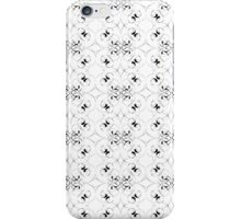BW floral 2 iPhone Case/Skin