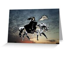 The Black Knight Greeting Card