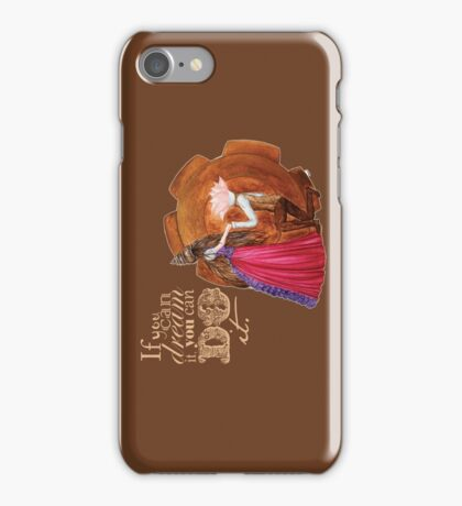 If you can dream it, you can do it iPhone Case/Skin