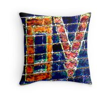 the colours LOVE Throw Pillow
