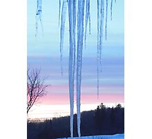 Cold As Ice Photographic Print