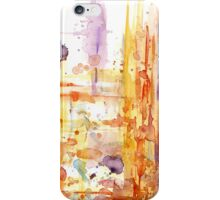 Abstract watercolor design iPhone Case/Skin