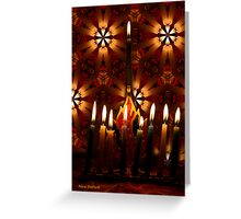 Where there is Light, there is Hope Greeting Card