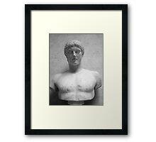Roman Bust Framed Print