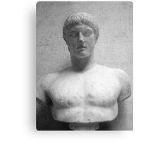 Roman Bust Metal Print