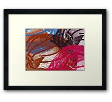 Red Fish Framed Print