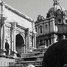 Roman Forum by Catherine Hadler