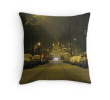 snow 3 Throw Pillow