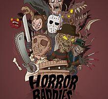 Horror Baddies by allanohr