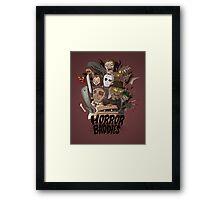 Horror Baddies Framed Print