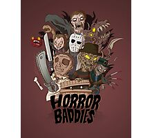Horror Baddies Photographic Print