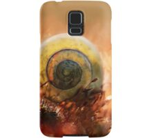 Morning impression with small shell Samsung Galaxy Case/Skin