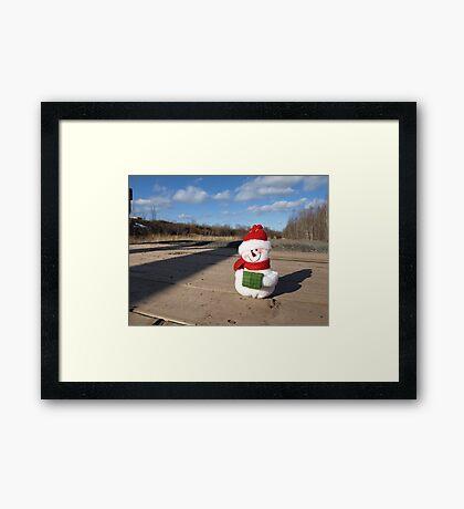 Waiting for Christmas 2 Framed Print
