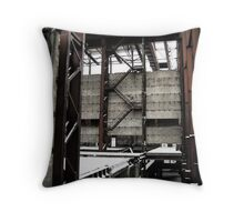 Red stairs - St. Petersburg, Russia. Throw Pillow
