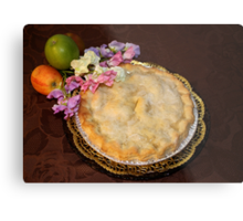 Apple Pie to be served with Cream !!! Metal Print