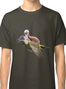 Flying Woodpecker Weasel Knievel Meme Classic T-Shirt