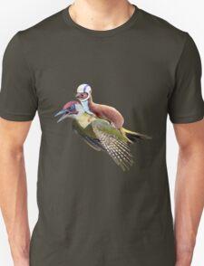 Flying Woodpecker Weasel Knievel Meme T-Shirt