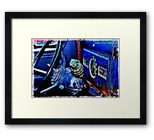 Don't Pull the Pin When You Shift! Framed Print