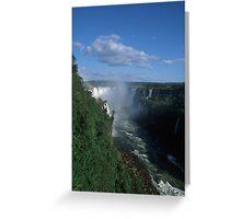 Iguacu falls  Greeting Card