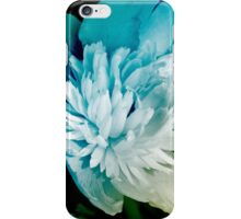 Blue Peony Flower Art iPhone Case/Skin