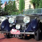 Classic car, Monaco by leksele