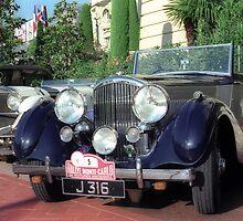Classic car, Monaco by leksele