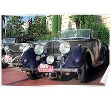 Classic car, Monaco Poster