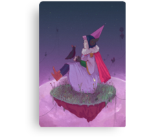 space witch Canvas Print
