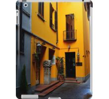 A Streetview in Monza, Italy iPad Case/Skin