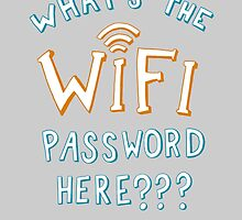 What's The WIFI Password Here by StevieNYC
