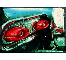 Classy Tail Lights Photographic Print