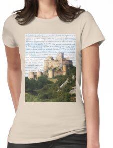 El Castillo De Loarre Womens Fitted T-Shirt