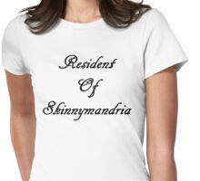 Resident Of Skinnymandria (B) Womens Fitted T-Shirt