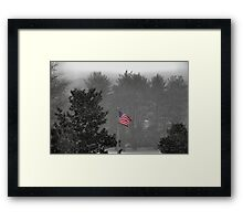 Free Flowing... Framed Print