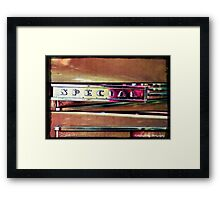 Handle this Special Framed Print