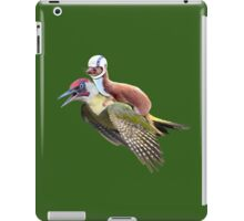 Flying Woodpecker Weasel Knievel Meme iPad Case/Skin