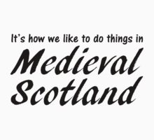 Medieval Scotland (B) Kids Clothes