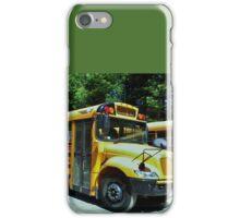 Public School Bus - New York iPhone Case/Skin