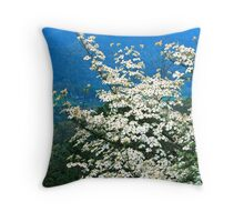 DOGWOOD, FOOTHILLS PARKWAY Throw Pillow