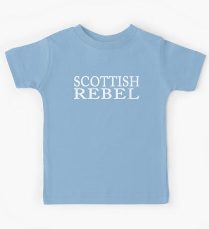 Scottish Rebel Kids Tee