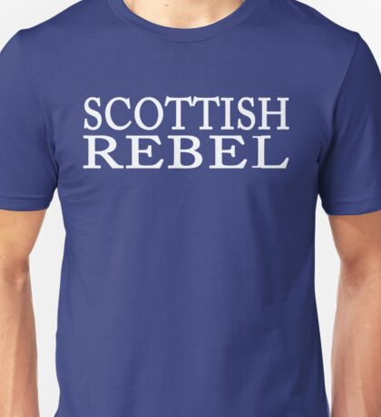 Scottish Rebel Unisex T-Shirt